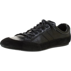 Dior Homme Black Suede and Leather Sneakers Size 41