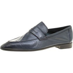 Berluti Oxford Blue Leather Lorenzo Loafers Size 42.5 found on MODAPINS from The Luxury Closet for USD $2255.00