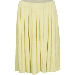 Prada Yellow Pleated Terry Cloth Skirt M found on Bargain Bro Philippines from The Luxury Closet for $298.00