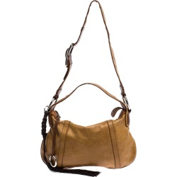 Dolce and Gabbana Tan/Brown Leather Shoulder Bag found on Bargain Bro India from The Luxury Closet for $720.24