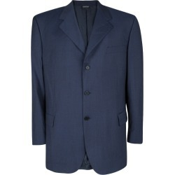 Givenchy Gentleman Blue Wool Tailored Blazer 4XL found on Bargain Bro India from The Luxury Closet for $162.00