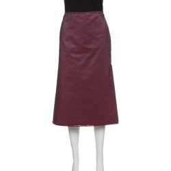 Prada Pink Cotton Embellished Trim Midi Skirt M found on Bargain Bro Philippines from The Luxury Closet for $354.00