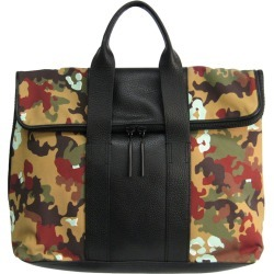 3.1 Phillip Lim Multicolor Camouflage Canvas/Leather 31 Hour Bag