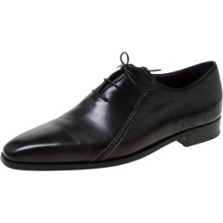 Berluti Black Leather Lace Up Oxfords Size 42.5 found on MODAPINS from The Luxury Closet for USD $1205.82