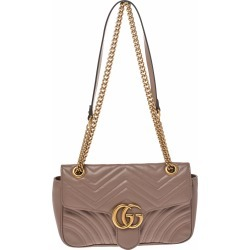 Gucci Nude Beige Matelasse Leather Small GG Marmont Shoulder Bag found on MODAPINS from The Luxury Closet for USD $1431.11