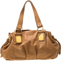 Michael Kors Brown Leather Satchel found on MODAPINS from The Luxury Closet for USD $228.29