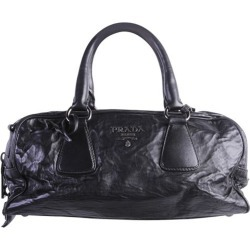 Prada Black Leather Bag found on MODAPINS from The Luxury Closet for USD $1188.86