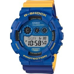 Casio G-SHOCK Digital Watch GD-120NC-2 - Blue/Yellow found on Bargain Bro India from eGlobal Central UK for $91.00