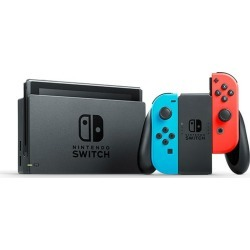 Nintendo Switch with Neon Blue and Neon Red Joy-Con (2019 Version) with Nintendo Switch Game Ring Fit Adventure [English] found on GamingScroll.com from eGlobal Central UK for $471.55