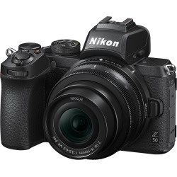 Nikon Z50 Mirrorless Digital Camera with Z DX 16-50mm Lens - Black