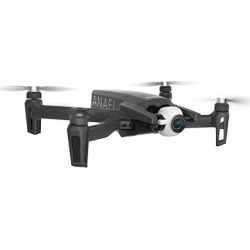 Parrot ANAFI 4K HDR Camera Drone with Skycontroller - FPV Pack - Black