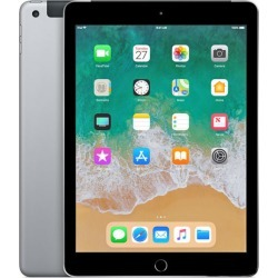 Apple iPad 9.7 (2018) 128GB 4G with Folding Case (Black) - Space Gray found on Bargain Bro India from eGlobal Central UK for $600.97
