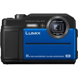Panasonic Lumix DMC TS7 Digital Cameras - Blue found on Bargain Bro India from eGlobal Central UK for $243.19