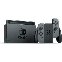 Nintendo Switch with Gray Joy‑Con and Switch Pro Controller found on GamingScroll.com from eGlobal Central UK for $351.60