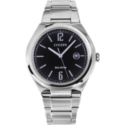 Citizen Eco-Drive Men's Stainless Steel Watch AW1370-51E