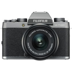 Fujifilm X-T100 Digital Cameras with XC 15-45mm f/3.5-5.6 OIS PZ Lens - Dark Silver found on Bargain Bro India from eGlobal Central UK for $497.51