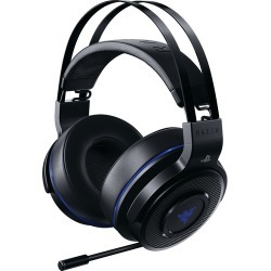 Razer Thresher Ultimate Wireless Gaming Headset with Retractable Microphone for PS4 - Black