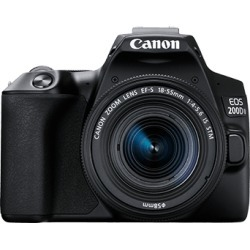 Canon EOS 200D Mark II Body Only Digital SLR Camera - Black [kit box]