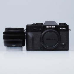 Fujifilm Finepix X-T20 Digital Cameras with XC 15-45mm f/3.5-5.6 OIS - Black