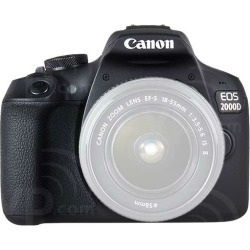 Canon EOS 2000D Body Only Digital SLR Camera - Black [kit box]