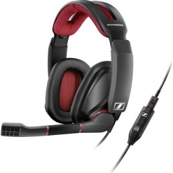 Sennheiser GSP 350 Gaming Headset - Black/Red