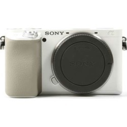 Sony Alpha A6100 Body Only Digital Mirrorless Cameras - White found on Bargain Bro India from eGlobal Central UK for $617.26