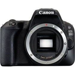 Canon EOS 200D Body Only Digital SLR Camera - Black [kit box]