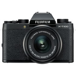 Fujifilm X-T100 Digital Cameras with XC 15-45mm f/3.5-5.6 OIS PZ Lens - Black with XF 27mm F2.8 Black Lens found on Bargain Bro India from eGlobal Central UK for $675.28