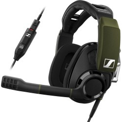 Sennheiser GSP 550 7.1 Surround Sound Wired PC Gaming Headset - Black/Green