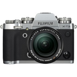 Fujifilm X-T3 Digital Camera with 18-55mm f/2.8-4 R LM OIS Lens - Silver