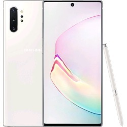 Samsung Galaxy Note 10+ N975FD 12GB/256GB Dual Sim with Tempered Glass Screen Protector and Folding Case (Black) - Aura White found on Bargain Bro India from eGlobal Central UK for $992.62