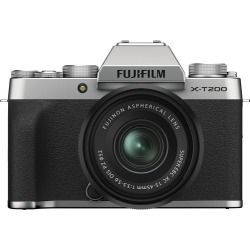 Fujifilm X-T200 Digital Cameras with XC 15-45mm f/3.5-5.6 OIS PZ Lens - Silver found on Bargain Bro India from eGlobal Central UK for $678.99