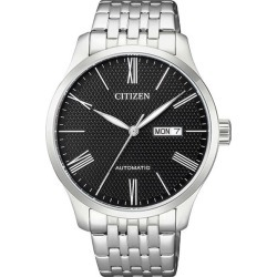 Citizen Eco-Drive Men's Stainless Steel Watch NH8350-59E