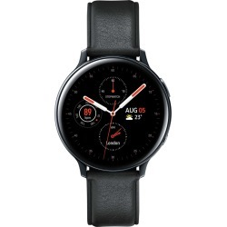 Samsung Galaxy Watch Active 2 R820 44mm Stainless Steel  with Tempered Glass Screen Protector - Black found on Bargain Bro Philippines from eGlobal Central UK for $373.60