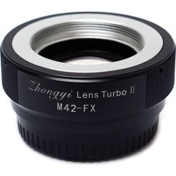 Zhongyi Lens Turbo Adapters ver II for M42 Lens to Fujifilm X Camera