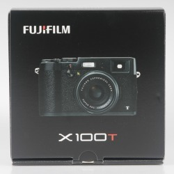 Fuji-film X100T Compact Digital Camera Black