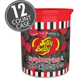 Raspberries and Blackberries - 4 oz Clear Can - 12 Count Case