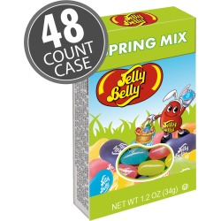Jelly Belly Spring Mix - 1.2 oz Boxes - 48-Count Case