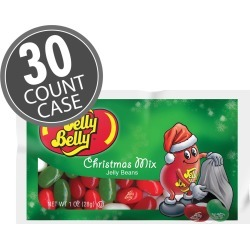Jelly Belly Christmas Mix - 1 oz. bags - 30 -Count Case