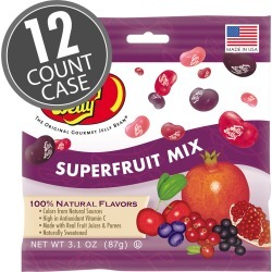Superfruit Mix Jelly Beans -3.1 oz Bags - 12-Count Case