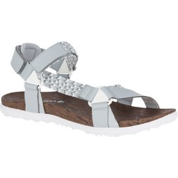 Merrell Women's Around Town Sunvue Woven Sandals High Rise Grey found on Bargain Bro India from sunandski.com for $63.82
