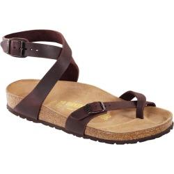 Birkenstock Women's Yara Oiled Leather Casual Sandals