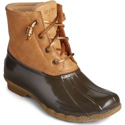 Sperry Women's Saltwater Starlight Leather Duck Boots found on Bargain Bro Philippines from sunandski.com for $130.00