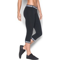 Under Armour Women's Favorite Word Mark Capris found on Bargain Bro India from sunandski.com for $22.85