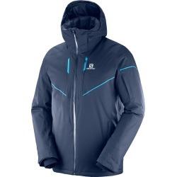 Salomon Men's Stormrace Ski Jacket, Night Sky