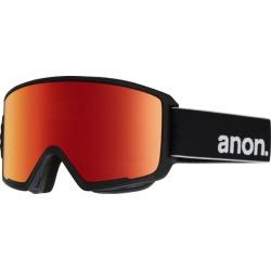 Anon Men's M3 Snow Goggles Red Solex Lens