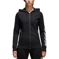 Adidas Women's Essentials Linear Full-Zip Hoodie