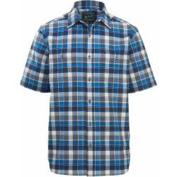 Woolrich Men's Eco Rich Midway Yarn-dye Short Sleeve Shirt
