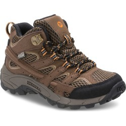 Merrell Boy's Moab 2 Mid Waterproof Boots found on Bargain Bro India from sunandski.com for $70.00