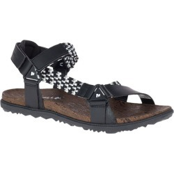 Merrell Women's Around Town Sunvue Woven Sandals Black found on Bargain Bro India from sunandski.com for $63.82